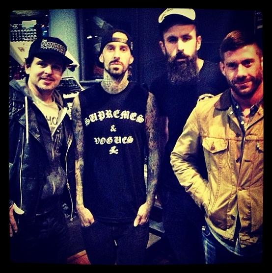 Danny Lohner, Travis Barker, Scroobius Pip & Wes Borland