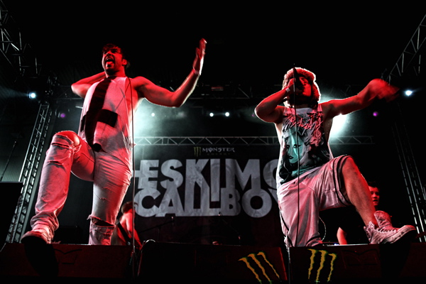 Eskimo Callboy, live, 21.04.2012 Leipzig
