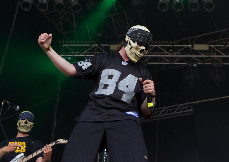 Dr Living Dead live, Rock Harz 2013