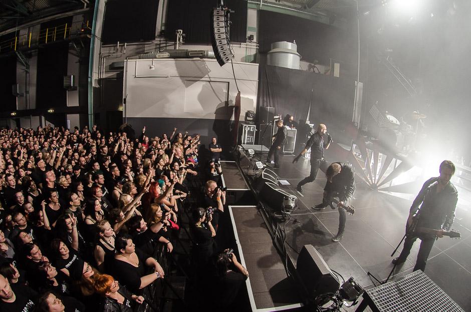 Eisbrecher live, 14.12.2013, München