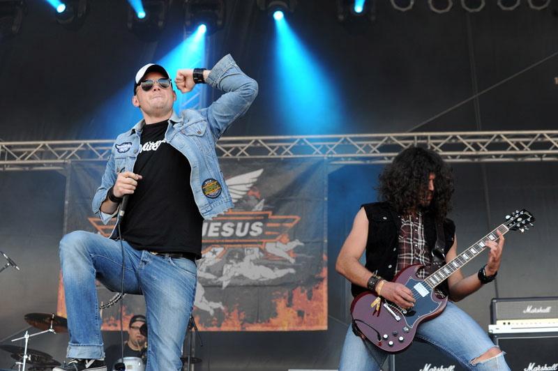 Motorjesus, live, Rock Harz 2011