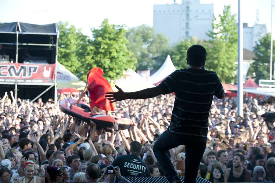 A Day To Remember live, Vainstream Rockfest 2013