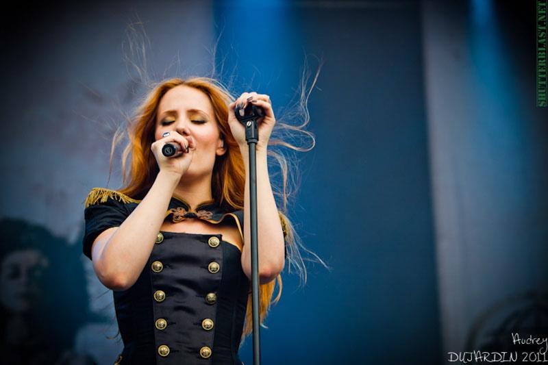 Epica, live, Tuska Open Air 2011