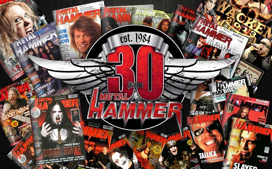 Klickt euch hier durch alle Titelbilder aus 30 Jahren METAL HAMMER >>>