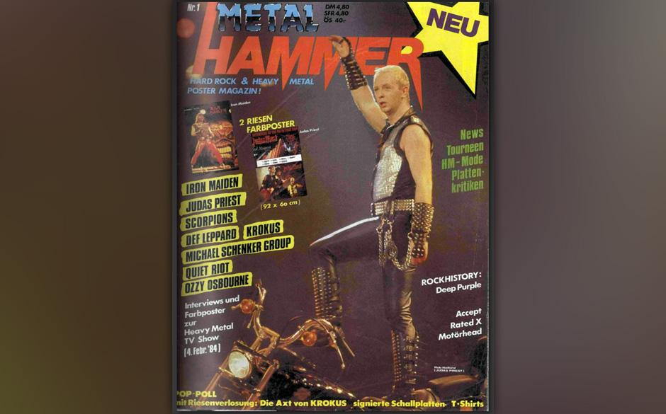 METAL HAMMER-Titelbilder seit 1984