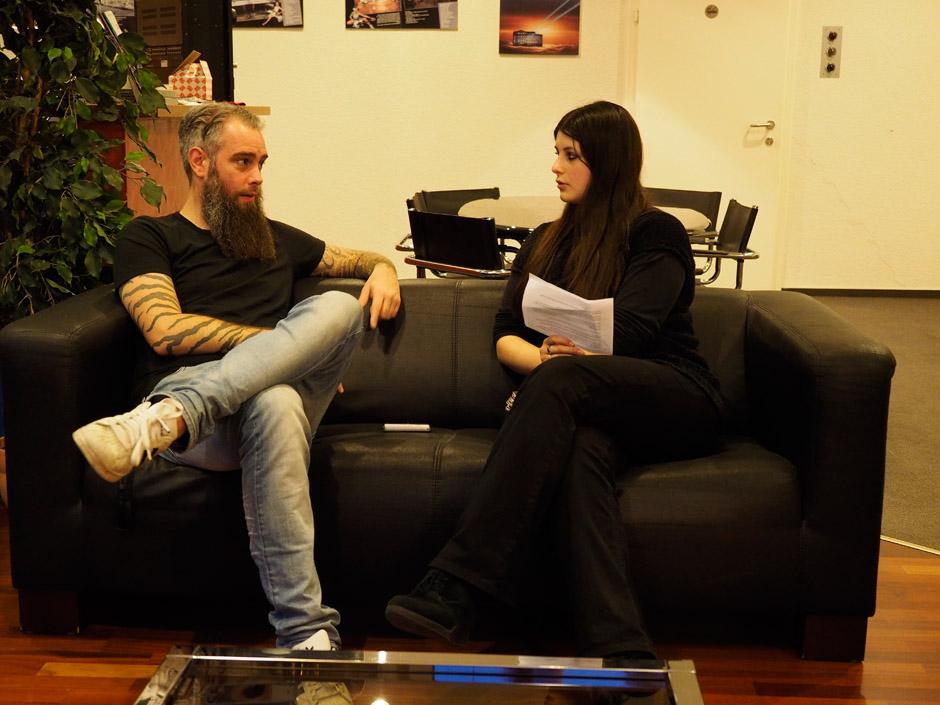 In Flames im Hansa Studio Berlin, 2014