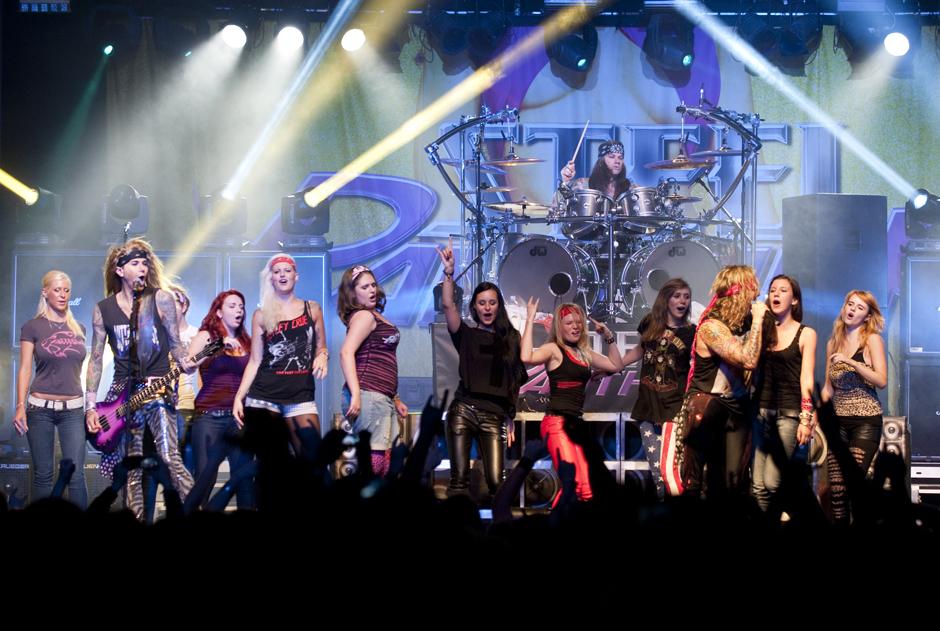 Steel Panther live, 25.10.2012, Hamburg, Docks