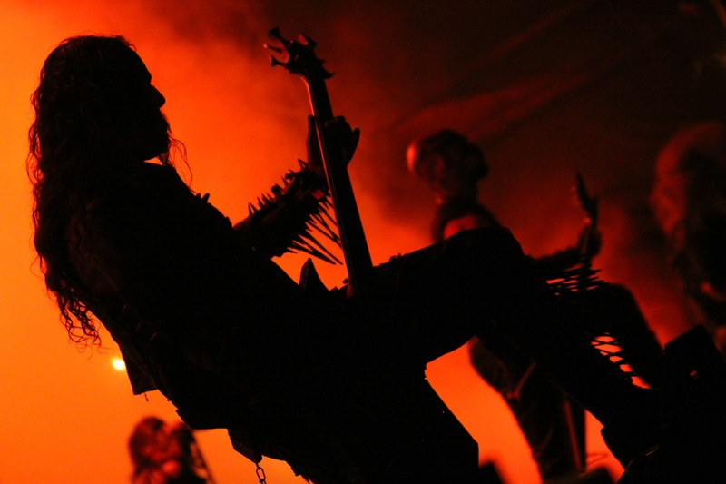 Watain, live, Metalcamp 2011