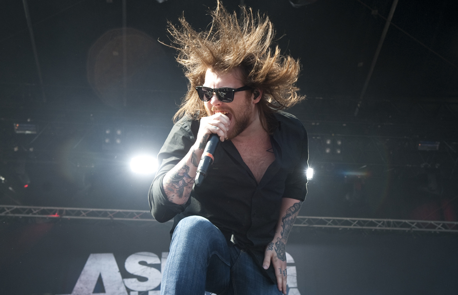 Asking Alexandria live, Vainstream Rockfest 2013
