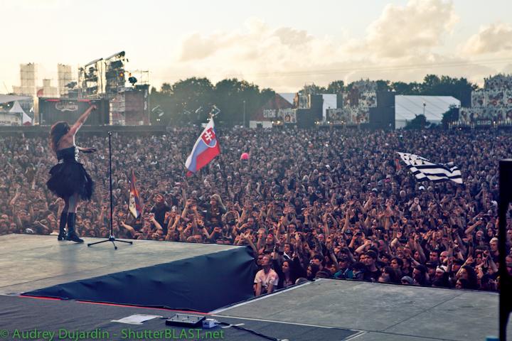 Hellfest 2012  - Within Temptation