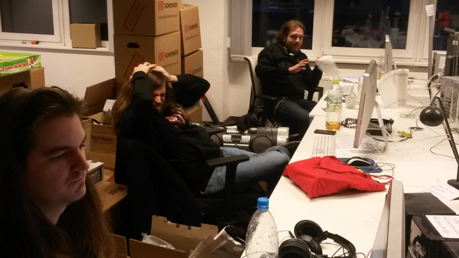 Virtuelle Manowar-Listening-Session
