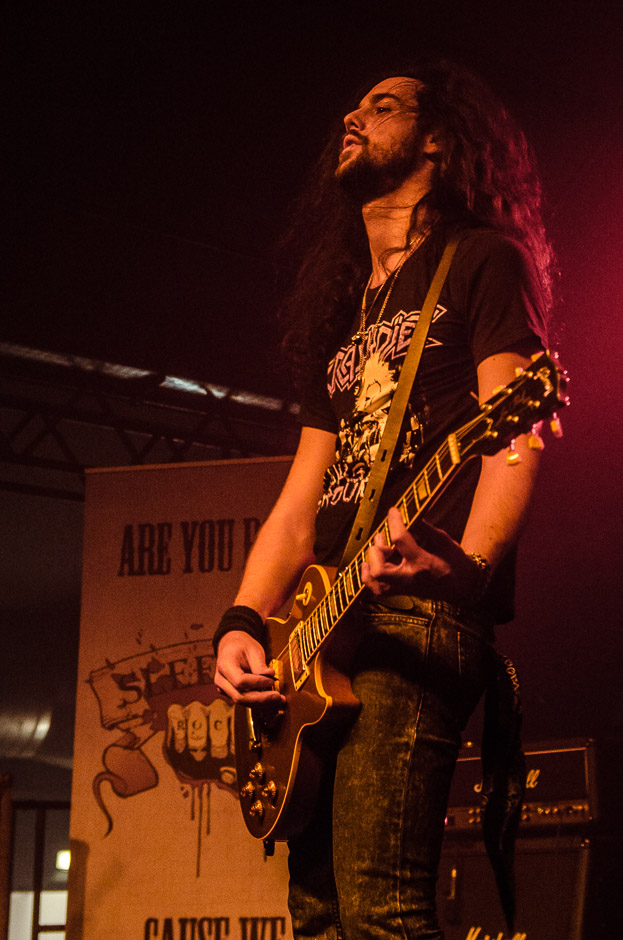 Sleekstain live, 06.02.2014, München