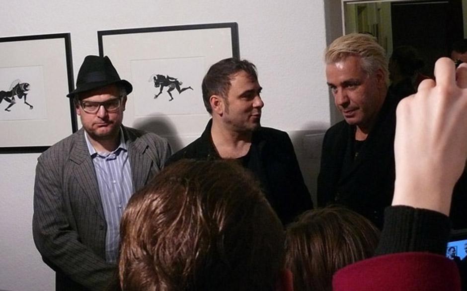 In stillen Nächten: Vernissage mit Rammsteins Till Lindemann