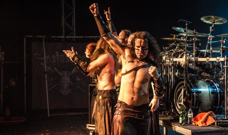 Ensiferum live, 05.10.2013, Heidenfest Oberhausen