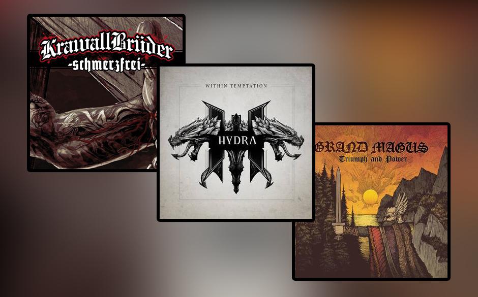 Metal-Alben in den Charts
