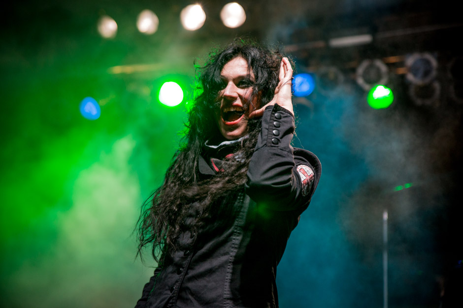 Lacuna Coil, 70000 Tons Of Metal 2013