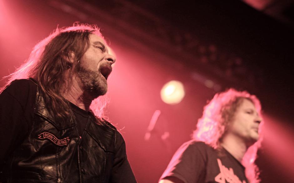 Flotsam&Jetsam live, 13.02.2014, Berlin