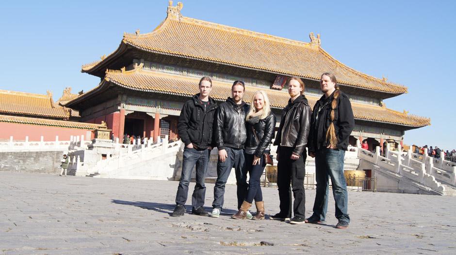 Leaves' Eyes + Atrocity in Peking