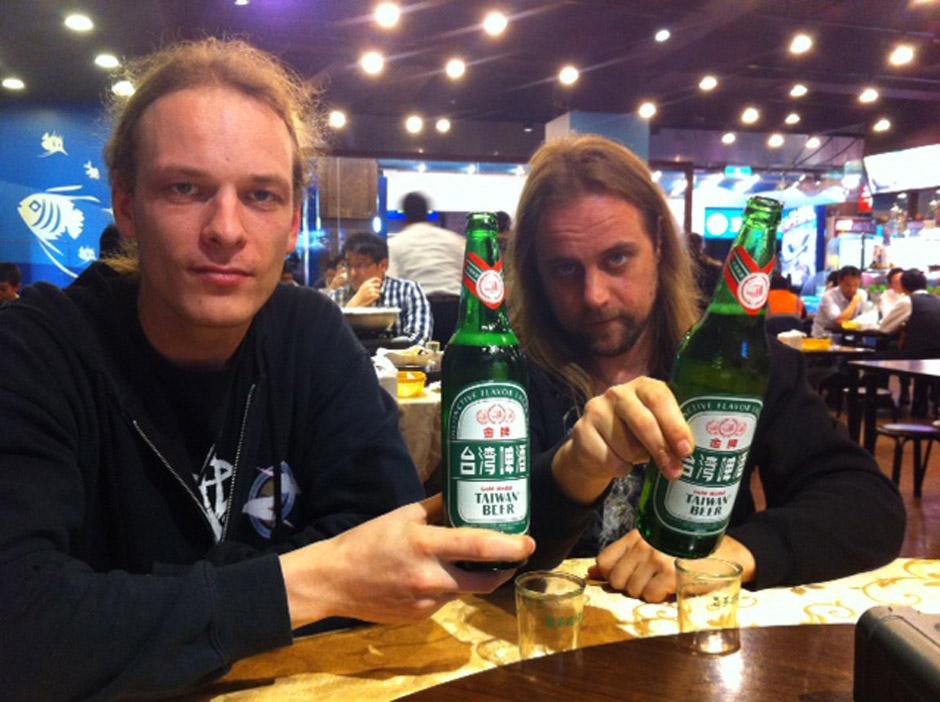 Leaves' Eyes + Atrocity in Taipei