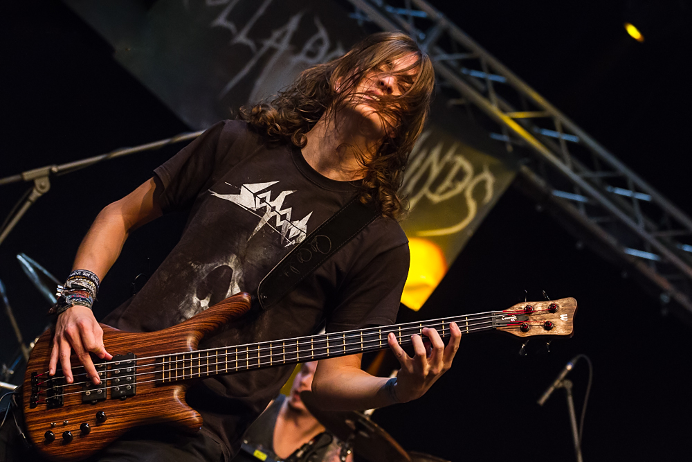Collapsed Minds live, 18.10.2013, Metal Invasion Festival: Straubing