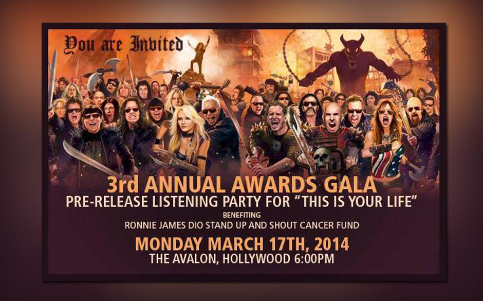 Ronnie James Dio - 3rd Annual Awards Gala
