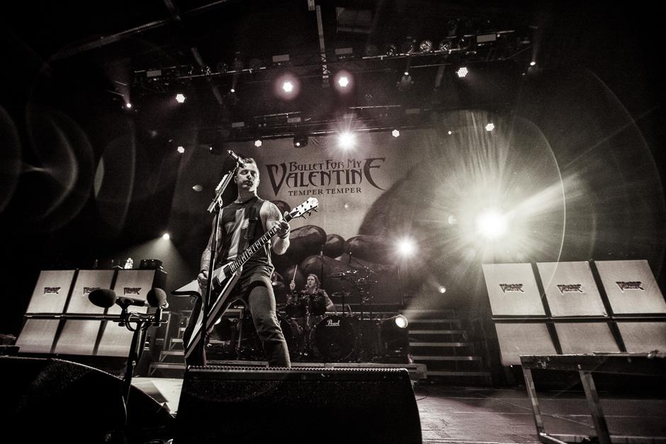 Bullet For My Valentine live, 23.02.2014, Wiesbaden: Schlachthof