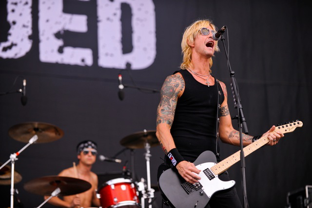 Duff McKagans Loaded, live, Rock am Ring 2011