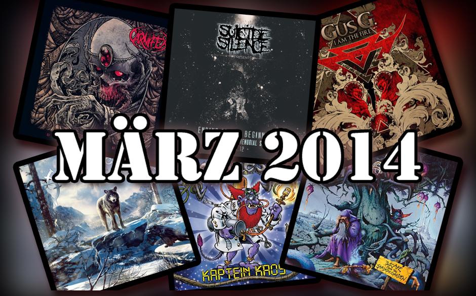 Die neuen Metal-Alben im März 2014 >>>