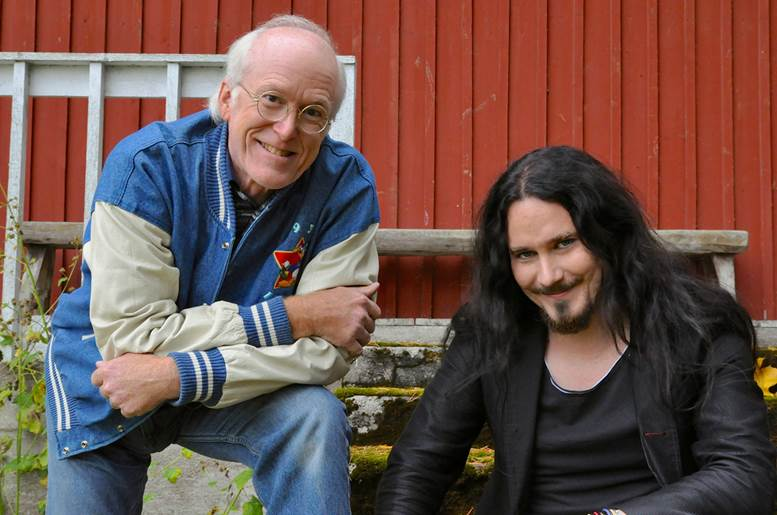 Tuomas Holopainen und Don Rosa