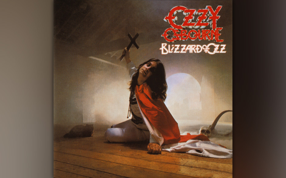 89. Ozzy Osbourne: 'Blizzard Of Ozz' (1980) Fehlte dem Debüt noch Druck und Durchsetzungsvermögen, zeigt schon der Titel de