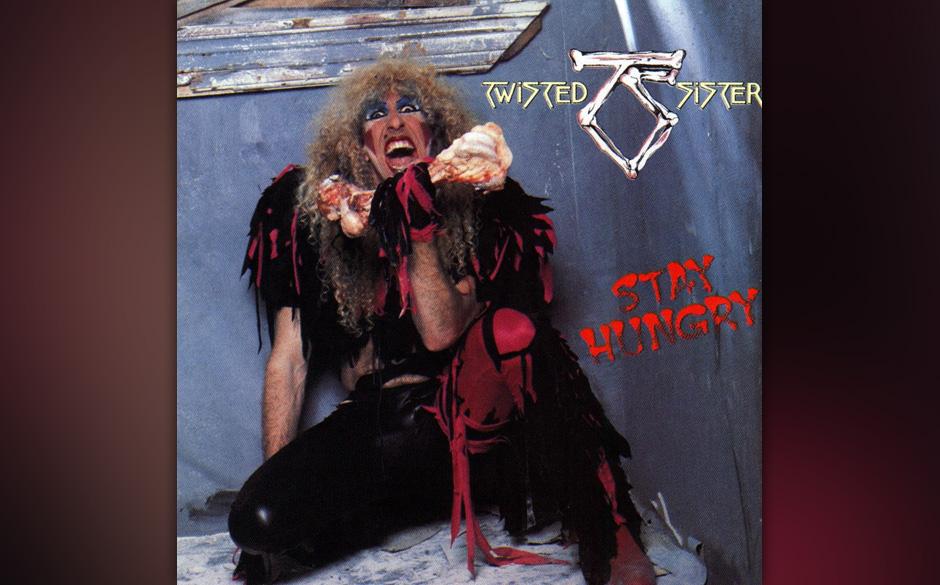 91. Twisted Sister: 'Stay Hungry' (1984) Dee Snider ist kein schnöder Sänger, sondern ein Gesamtkunstwerk: Er schrieb die b