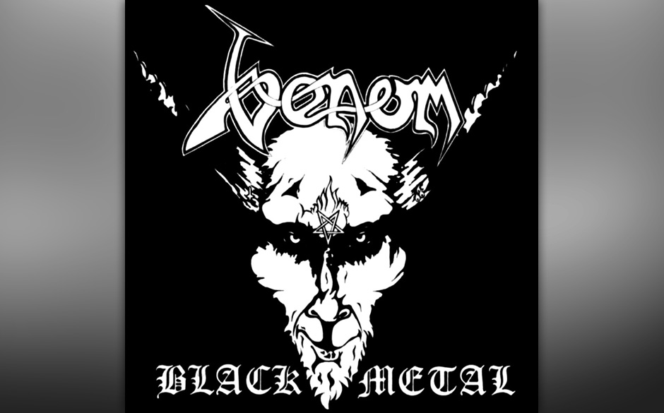 "92. Venom: 'Black Metal' (1982) ""Home taping ist killing music … So are Venom"", versprach das Backcover. Die Band hatte"