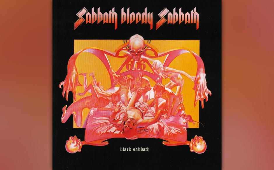 94. Black Sabbath: 'Sabbath Bloody Sabbath' (1973) Iommi fiel in L.A. nichts ein. Kurzerhand zog man in ein englisches Spuksc