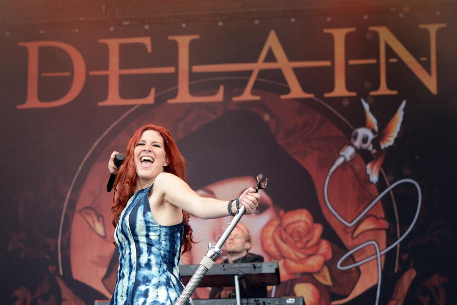 Delain live, Wacken Open Air 2012