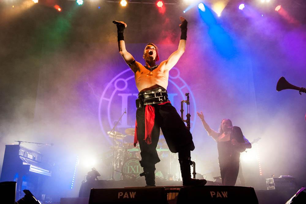 Saltatio Morits live, Rock XM-Mas, 21.12.2013, Bamberg