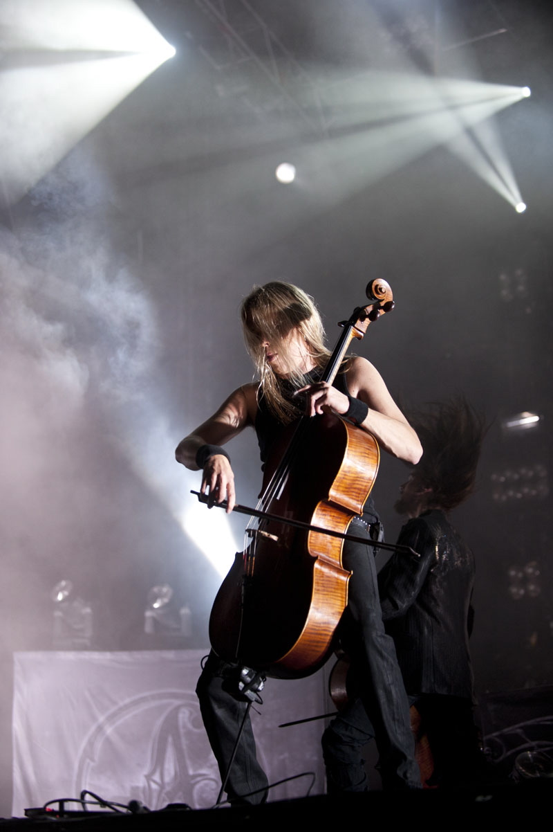 Apocalyptica, live, Wacken 2011