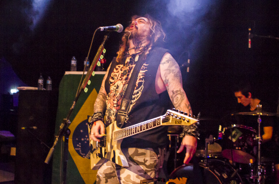 Soulfly live, 16.03.2014, Wiesbaden: Schlachthof