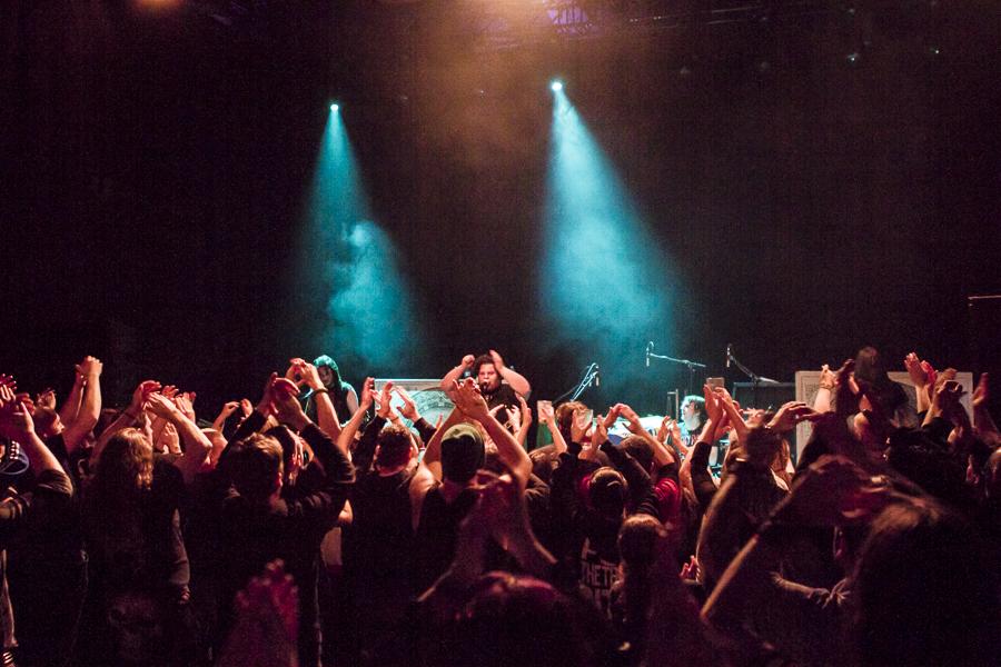 Tenside live, 16.03.2014, Wiesbaden: Schlachthof