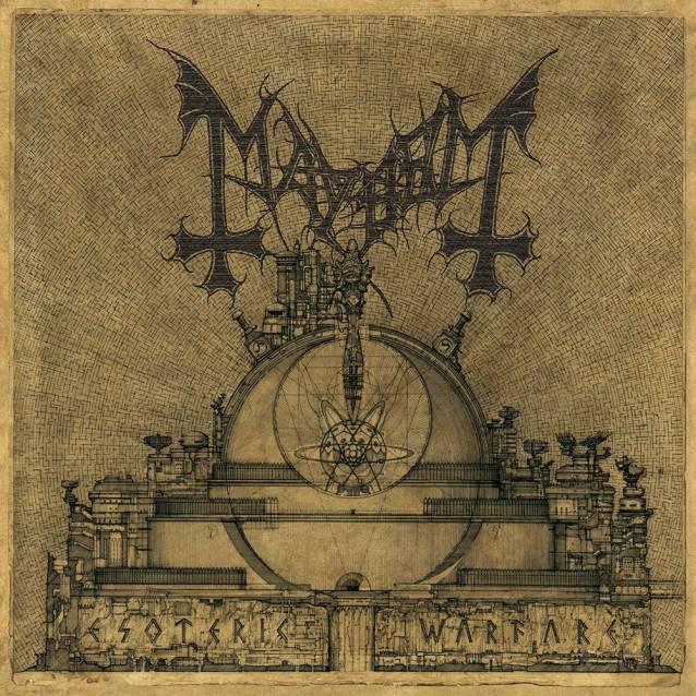 Mayhem - ESOTERIC WARFARE (23.5.)
