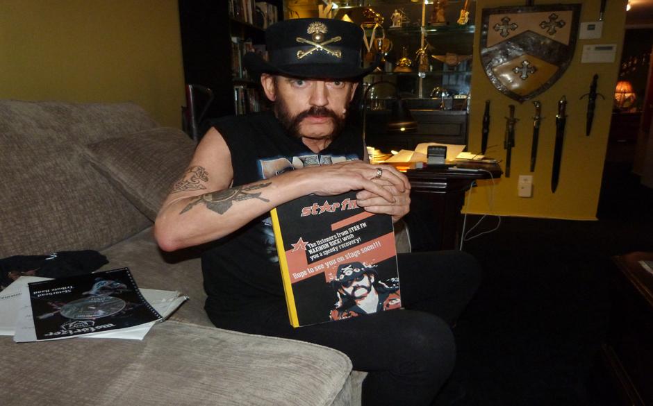 Lemmy mit Genesungswünschen