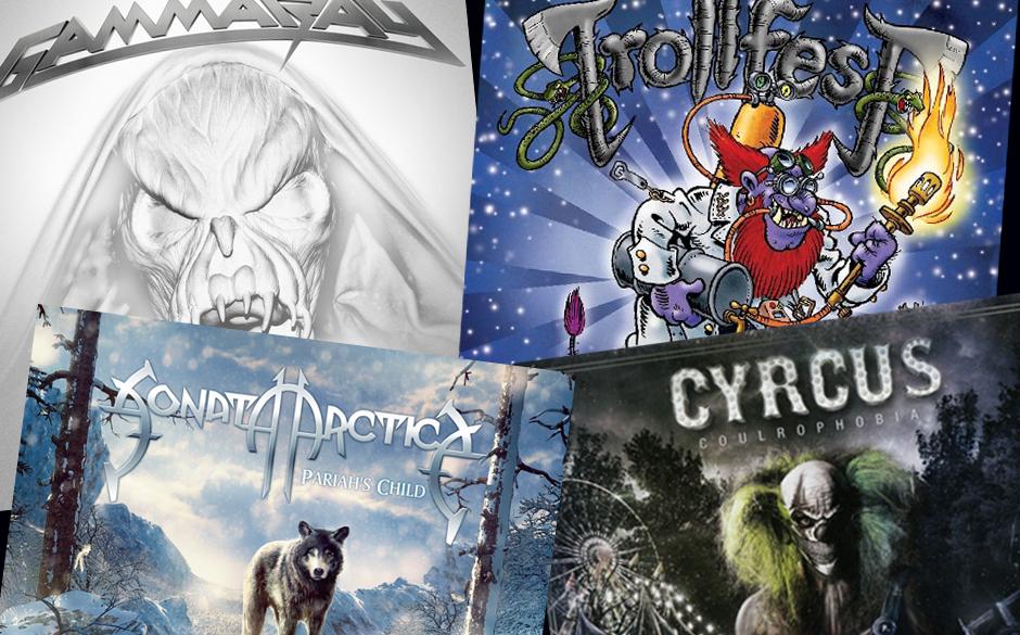 Klickt euch in der Galerie durch die neuen Metal-Alben! >>>