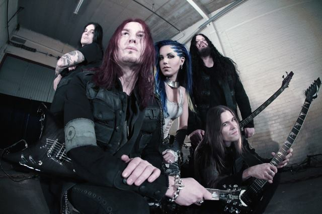 Arch Enemy mit Alissa White-Gluz