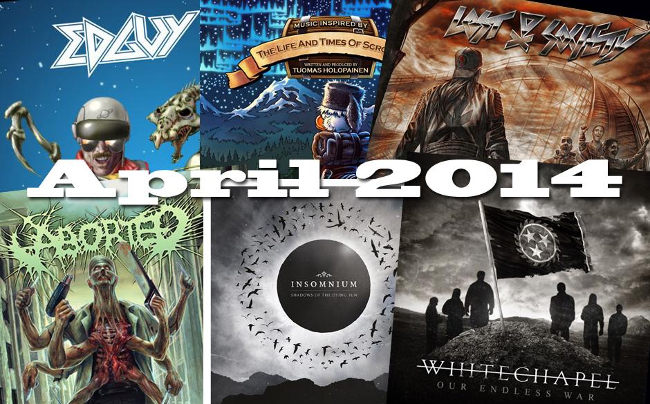 Klickt euch hier durch die neuen Metal-Alben im April 2014 >>>