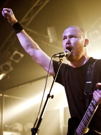 Misery Index, live, 09.02.2012 Hamburg, Markthalle