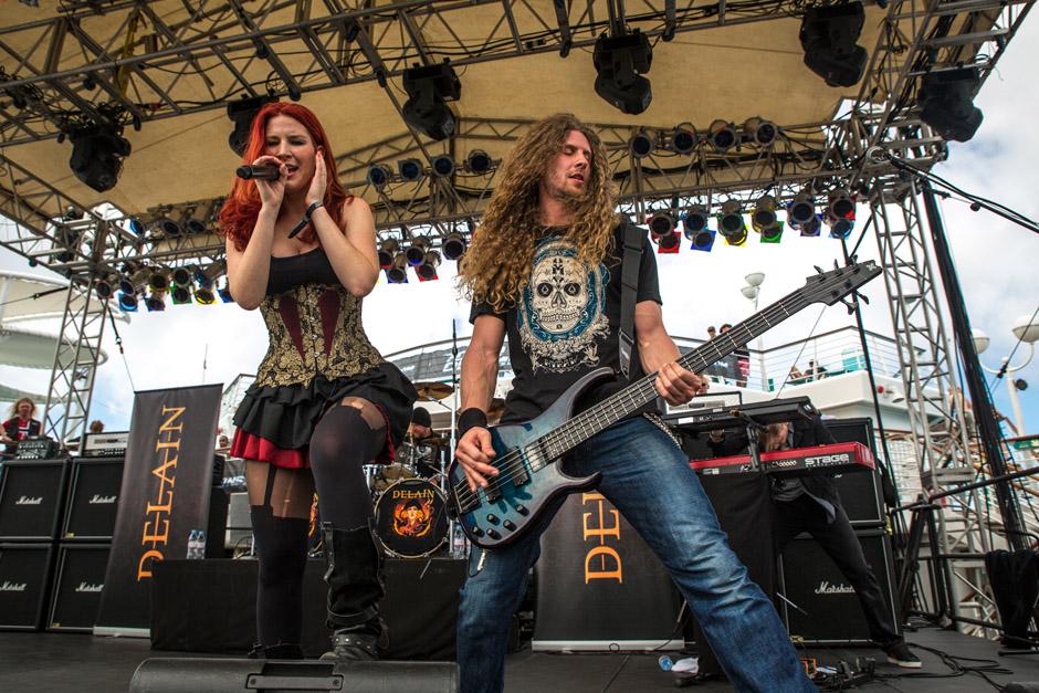 Delain, 70000 Tons Of Metal 2013
