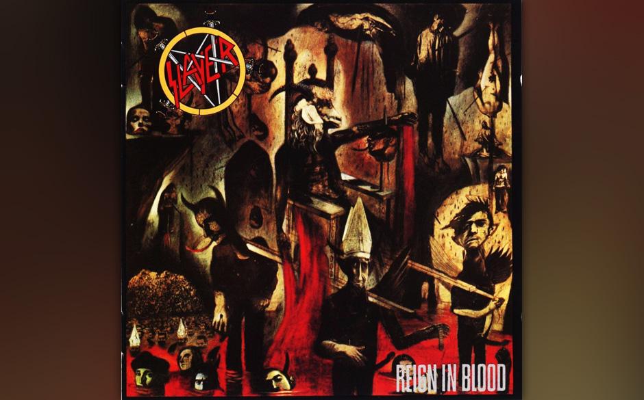 2. Slayer: 'Reign In Blood' (1986) Eines der wahnwitzigsten und einflussreichsten Alben des Heavy Metal erschien beim HipHop-