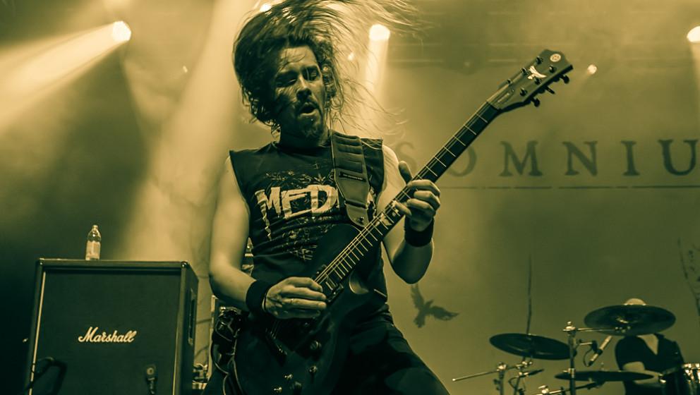 Insomnium live, 18.10.2013, Metal Invasion Festival: Straubing