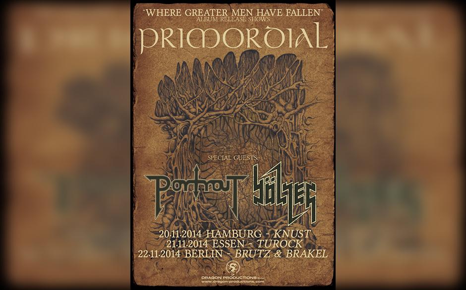 Primordial Tourposter 2014