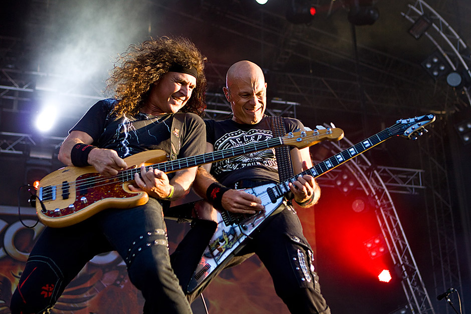 Accept live, Sweden Rock 2013