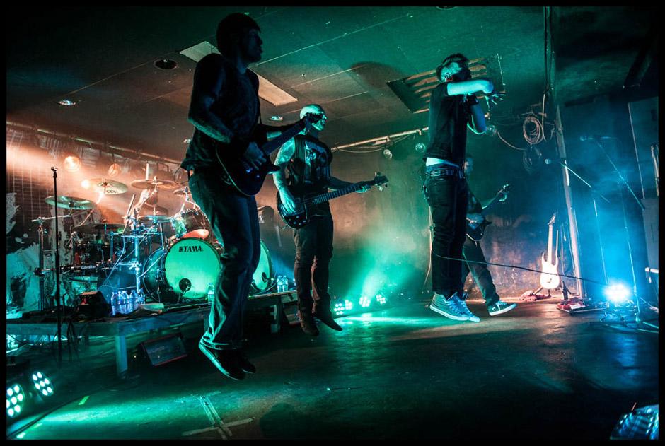 Caliban live, 24.01.2014, Köln